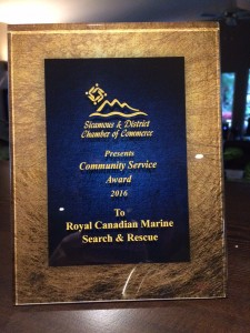C of C Service Award
